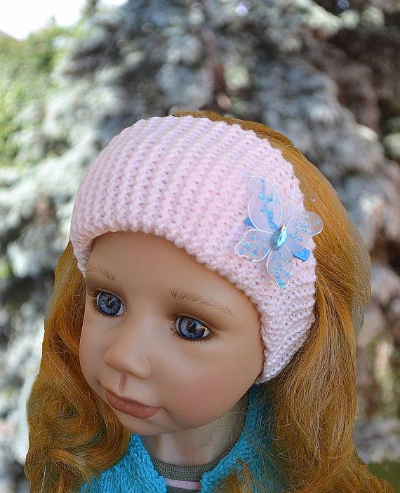 Knitted pink headband by DosiakStyle on Etsy, #Knittedpinkheadband, #pinkheadband, #knittedheadband