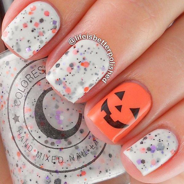 Halloween nail art-50 - 65 Halloween Nail Art Ideas  <3 <3