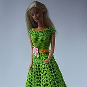 Купить или заказать Платье Зефирка в интернет-магазине на Ярмарке Мастеров. Очаровательное платье нежно розового цвета. Ажурная вязка юбки добавляет легкости и изящества.. Отделка бисером При желании можно дополнить шляпкой…