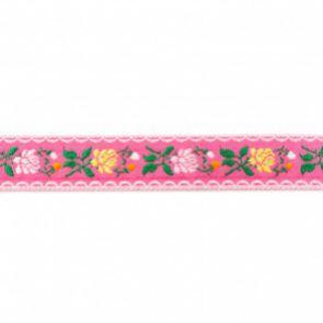 Beiers bloem roze - Band en Lint