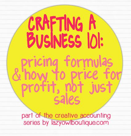 Etsy Pricing Formulas – How Do I Price My Products? | Paper + Spark/Lazy Owl Boutique