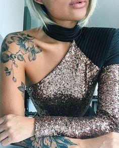 Shoulder tattoo!