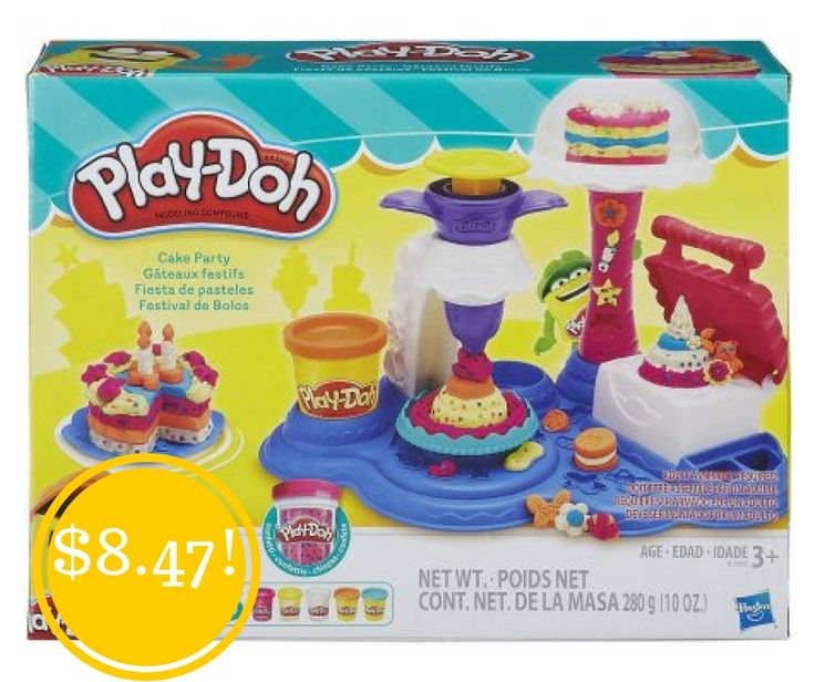 Walmart: Play-Doh Cake Party Only $8.47 (Reg. $15) - http://www.couponsforyourfamily.com/walmart-play-doh-cake-party-only-8-47-reg-15/