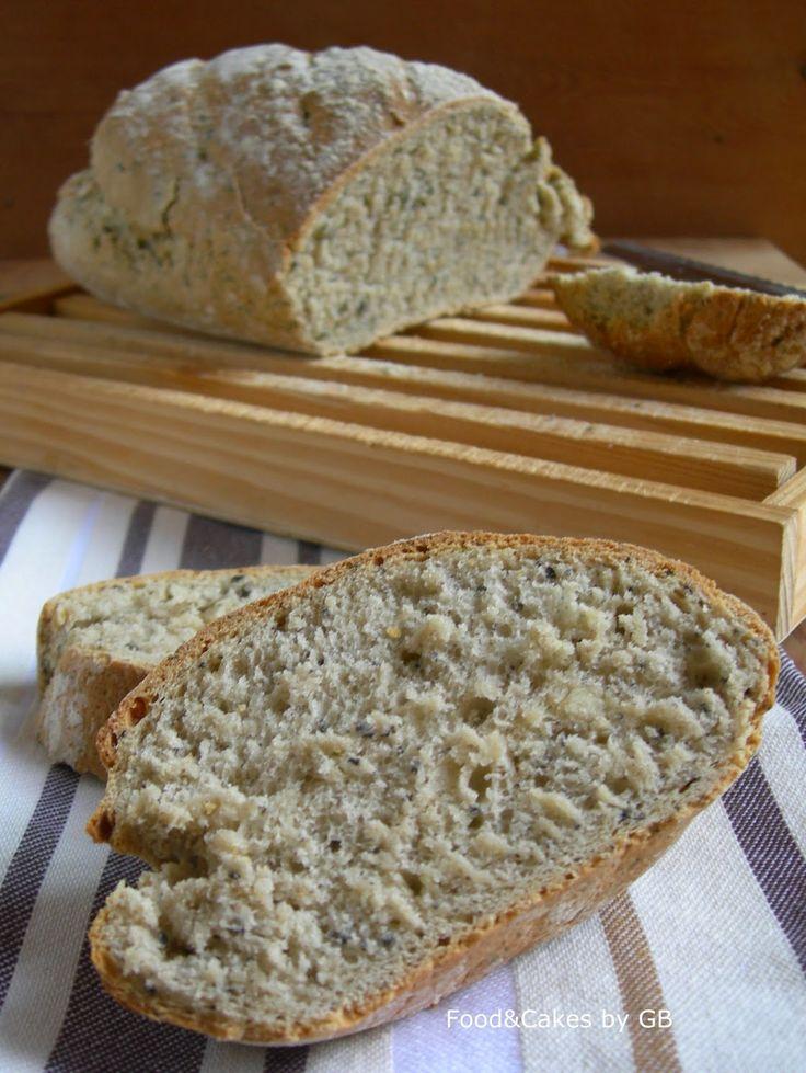 Pan de aceitunas negras y orégano (Thermomix)