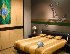 Best 25+ Soccer themed bedrooms ideas on Pinterest   Soccer ...