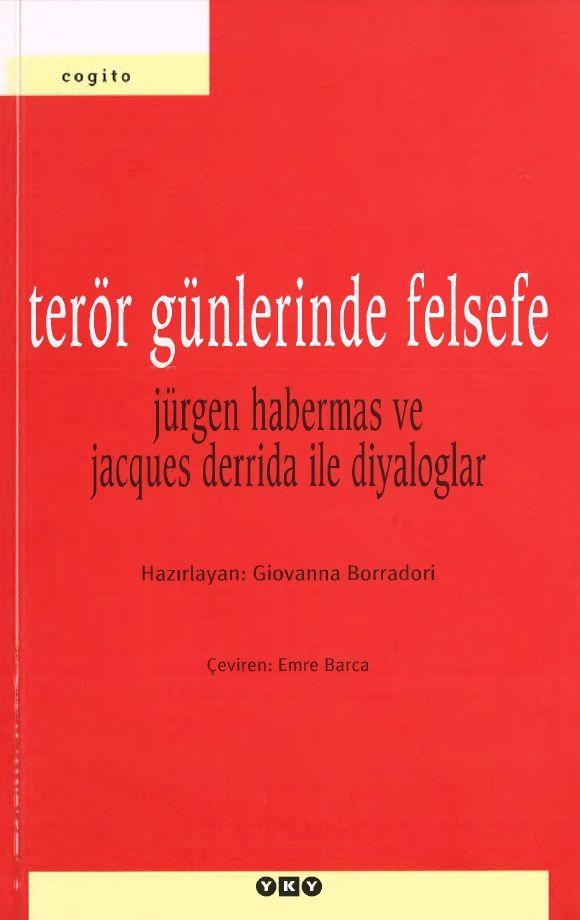 Giovanna Borradori - Terör Günlerinde Felsefe