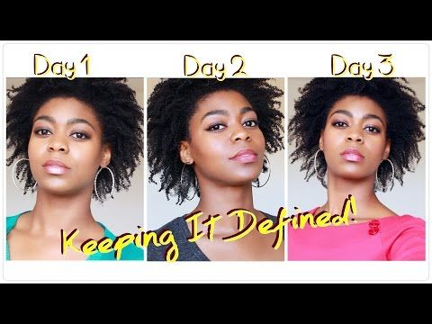 Keeping It Defined (Re-twist Night Routine) - 4C Natural Hair - ft. Oyin Handmade - Natural Hair - YouTube