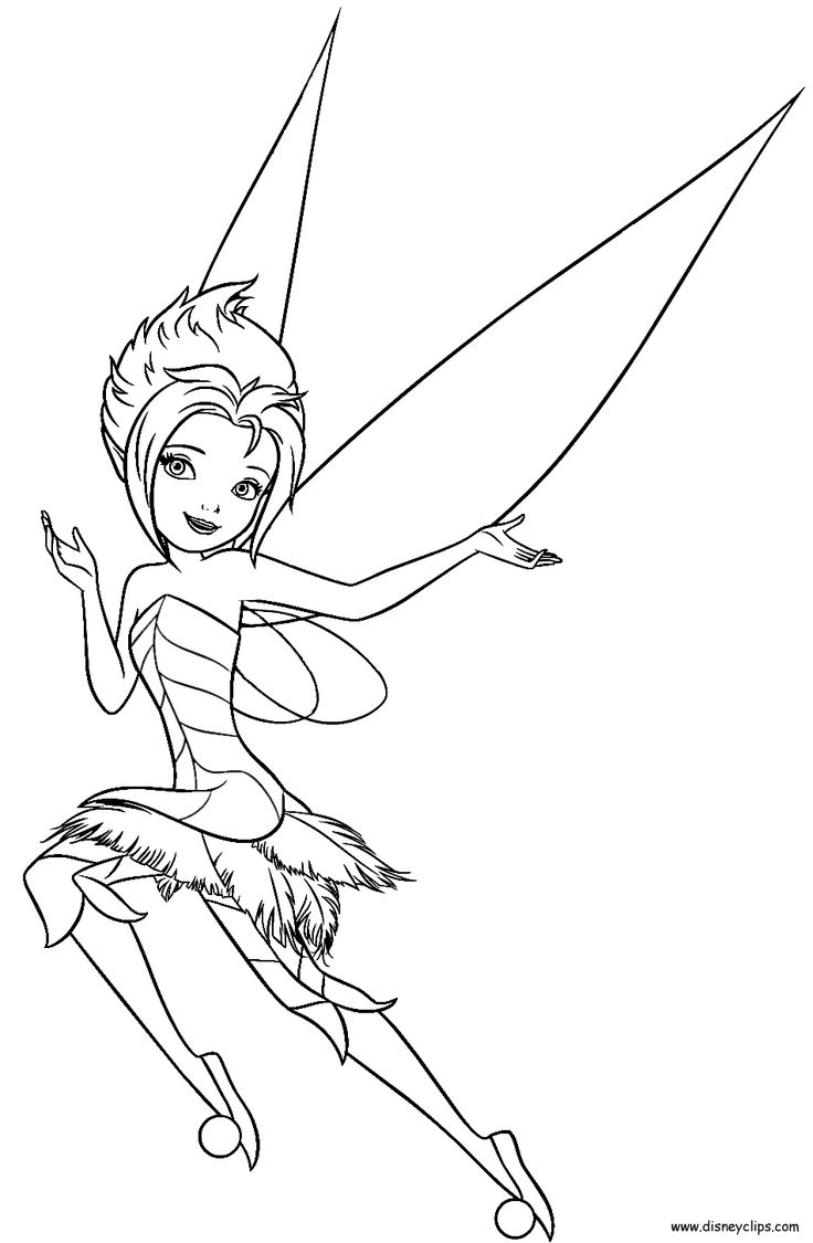 pixie hollow fira coloring pages | 78 best Disney Fairies images on Pinterest | Disney ...