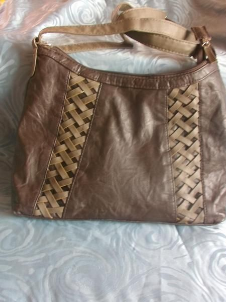 Vintage Handtasche braun von MajaSt auf DaWanda.com