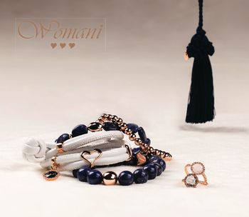Womani zwart halsketting