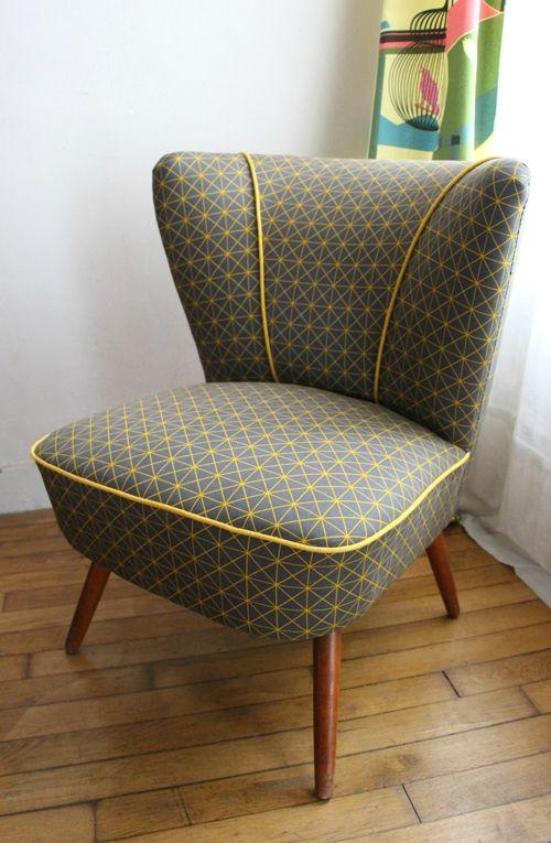 25 best ideas about fauteuil bridge sur pinterest retapisser une chaise retapisser un. Black Bedroom Furniture Sets. Home Design Ideas