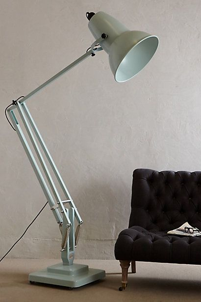Giant Anglepoise Floor Lamp #anthropologie