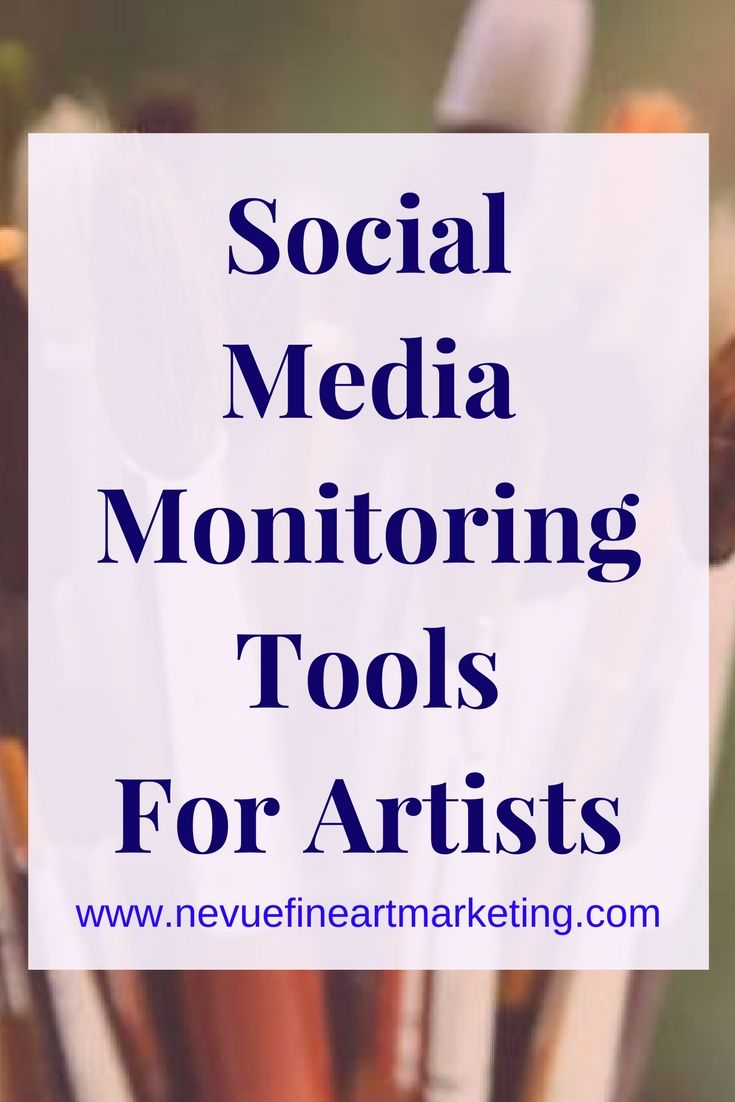 Would you like to know what people are saying about your art or art business? 4 social media monitoring tools you will want to take a look into.