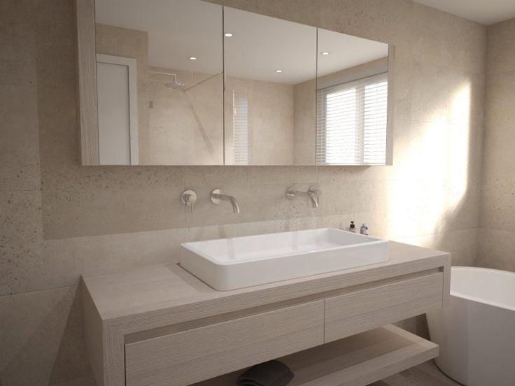 25 beste idee n over badkamer ontwerp op pinterest kraan en moderne badkamers - Moderne badkamer met ligbad ...