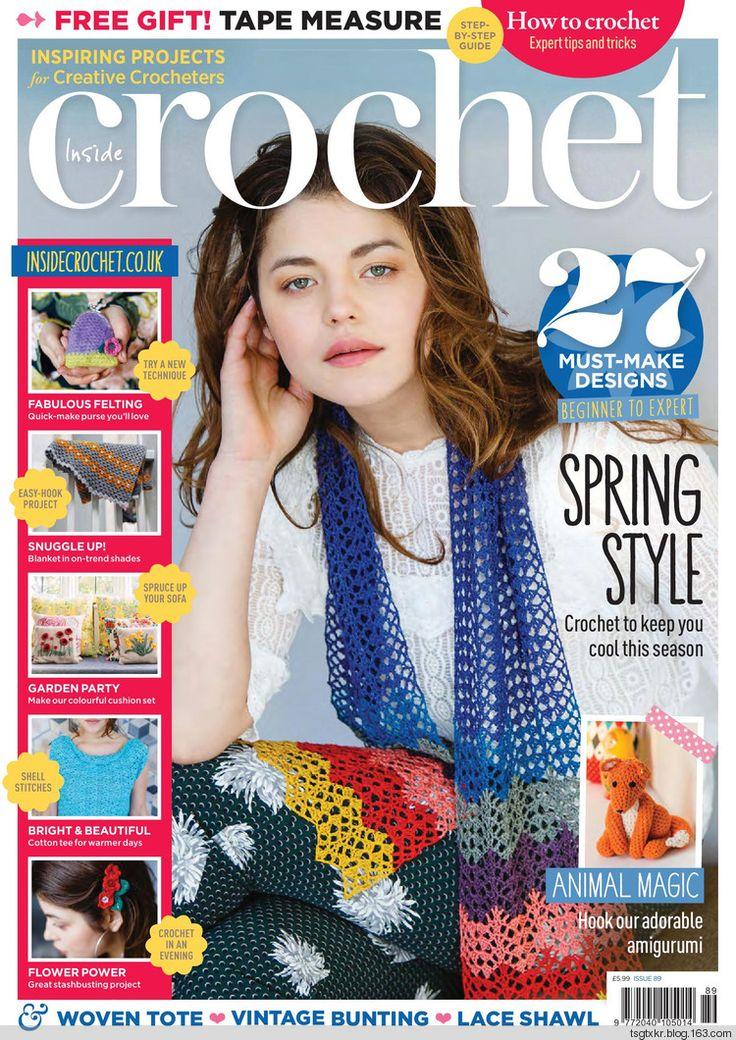 Inside Crochet № 89 2017 - 轻描淡写 - 轻描淡写