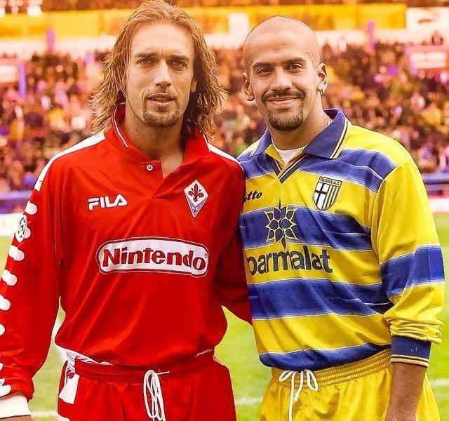 Gabriel Batistuta and Juan Sebastián Verón, legends!