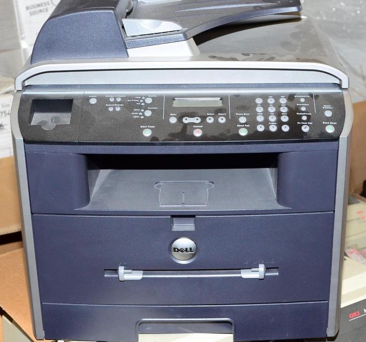 Dell All in One Multifunction #Laser #Printer Scanner Copier USB MFP 1600n #Dell