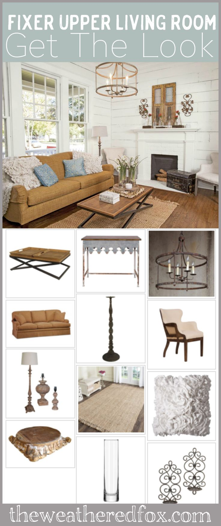 204 best the weathered fox images on pinterest for Fixer upper living room designs
