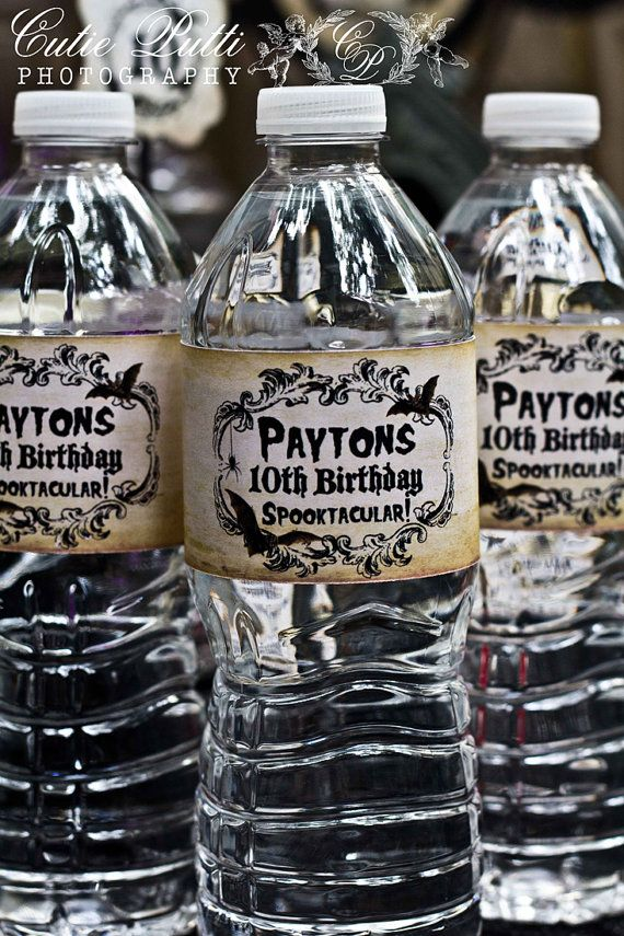 48 best Halloween Birthday Party images on Pinterest Halloween - sweet 16 halloween party ideas