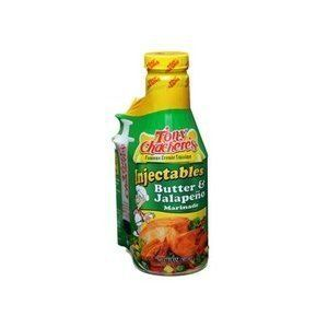 Tony Chachere's Butter & Jalapeno Injector Marinade (4 PACK) - Spices, Seasonings & Extracts