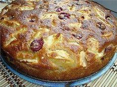 Bögrés kavart almás meggyes, így szoktam félóra alatt ínycsiklandó süteményt készíteni!