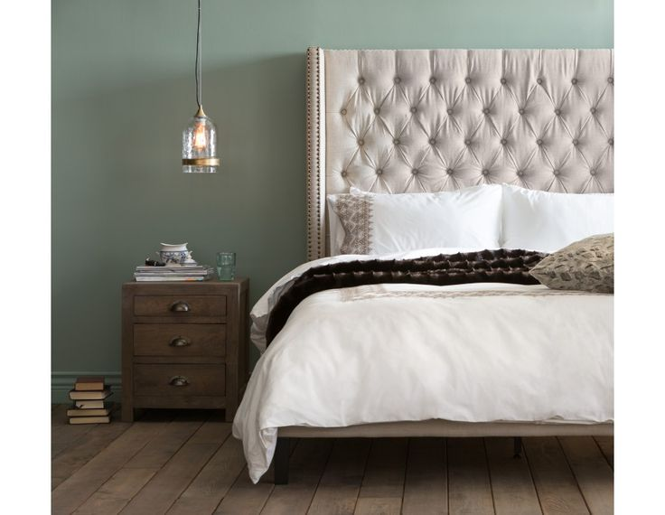 VERSAILLES - King Size Bed - Linen $879