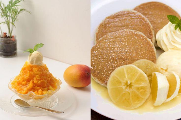 代官山「九州パンケーキカフェ」が九州・長崎直送かき氷「トロピカルアイスマウンテン」を発売