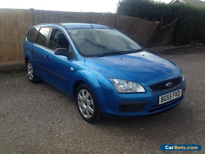 2005 FORD FOCUS LX TDCI BLUE low mileage NO RESERVE  #ford #focuslxtdci #forsale #unitedkingdom