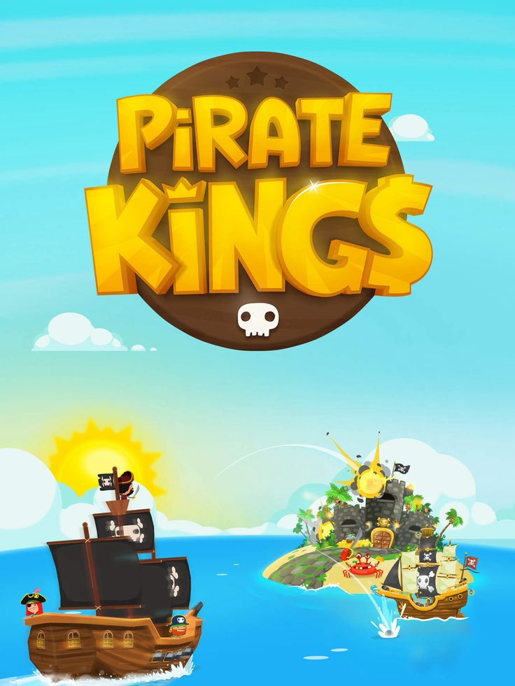 Pirate Kings game logo