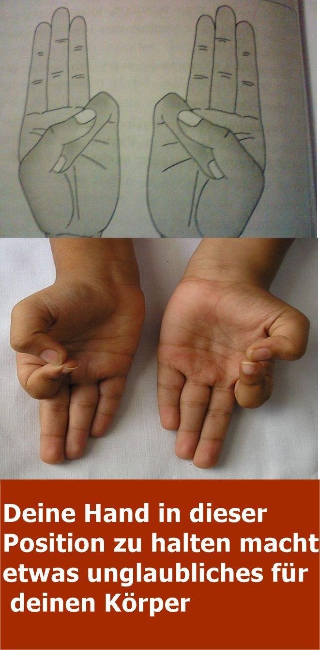 Mudras – Deine Hand in dieser Position zu halten macht etwas unglaubliches für deinen Körper