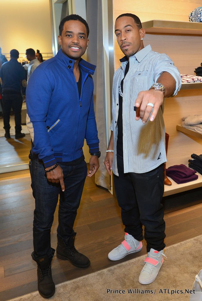 Larenz Tate and Ludacris chopped it up at a recent event.