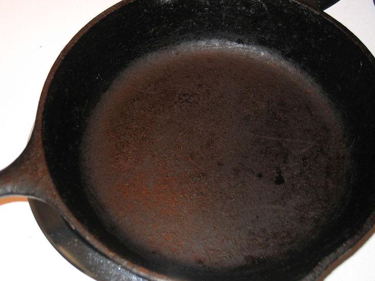 Cast Iron Pans, Sanding Cast Iron Pots, How To Sand Cast Iron Pots, Techniques for Restoring an old Cast-Iron Skillet