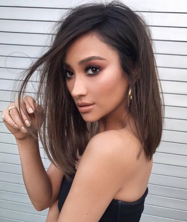 Makeover Alert! ✨ Shay Mitchell Just Got a Power Bob | Sleek long bob hairstyle | Shay on Instagram