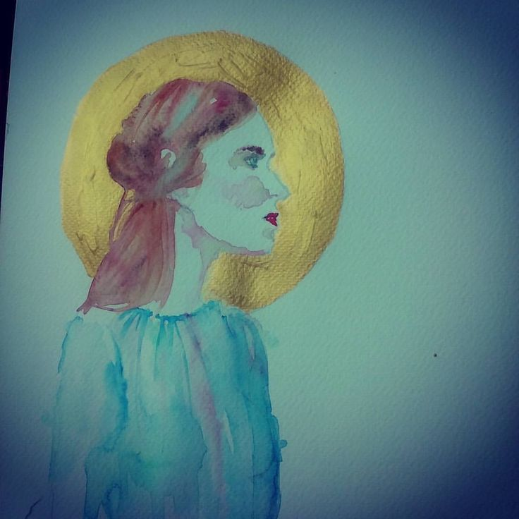 #watercolor #drawing #acuarela #valentino #fashion #art #arte #temuco #dhandro