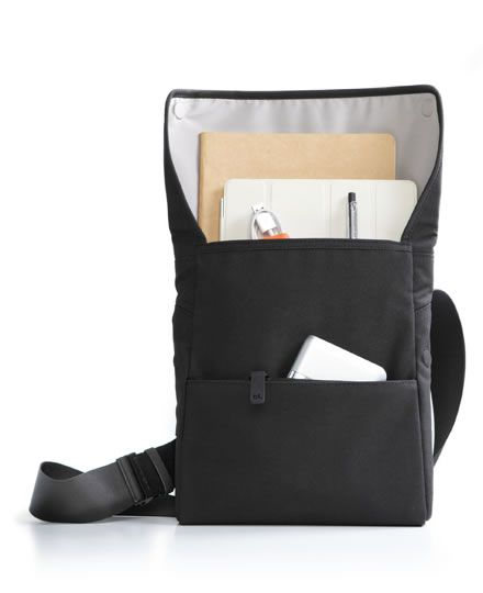 Fits iPad, charger, book and other accessories