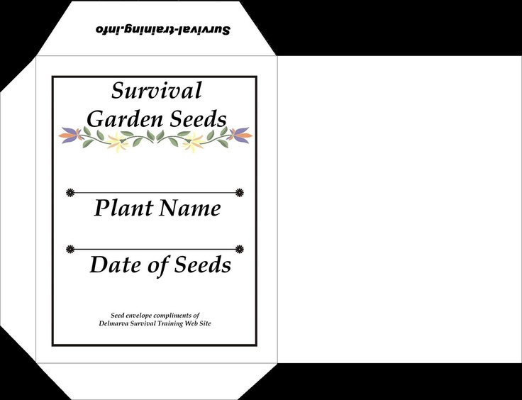 142 Best Images About Seed Packets On Pinterest Gardens
