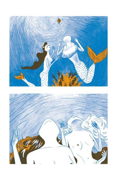 Verschmutzung der Meere by Eva Revolver, via Behance