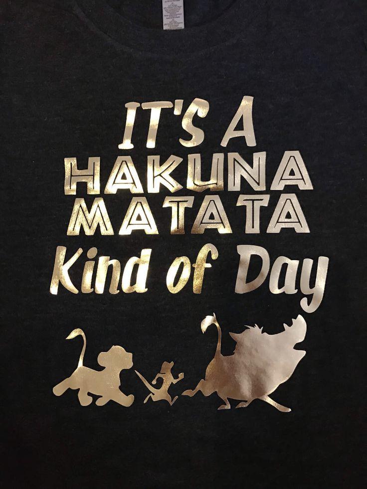 Animal kingdom shirt disney world shirt lion king shirt birthday shirt its a hakuna matata kind of day shirt by ColorMeRoseCo on Etsy https://www.etsy.com/listing/504551804/animal-kingdom-shirt-disney-world-shirt