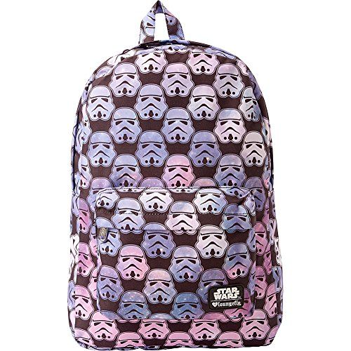 Great for Loungefly Star Wars Ombre Storm Trooper Head Backpack  (Black Multi) STBK0055 online.   24.77  allfashiondress from top store 9efc46845e307