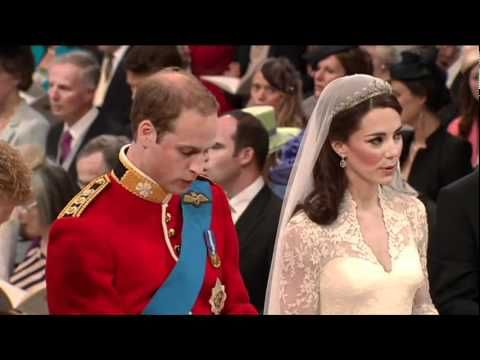 Guide Me O Thou Great Redeemer - Wedding Hymn from the marriage of Kate Middleton & Prince William #KateAndWilliam