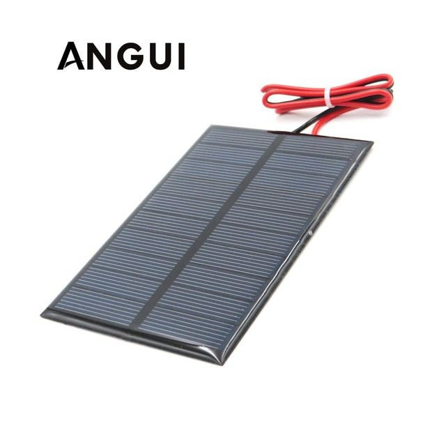 5v 250ma With 30cm Extend Cable Solar Panel Polycrystalline Silicon Diy Battery Charger Module Mini Solar Cell Wire Toy Review Solar Panels Solar Charger