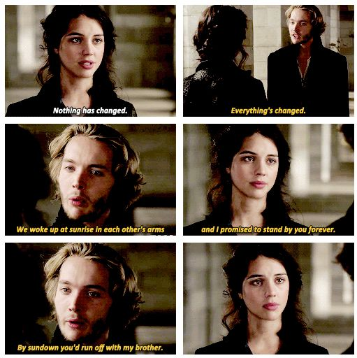 Mary and Francis ~ Reign. Episode 9, For King and Country| I NEED MY FRARY BACK TOGETHER ASAP