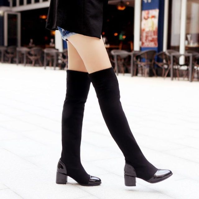 9 best images about Plus Size Thigh High Boots on Pinterest ...