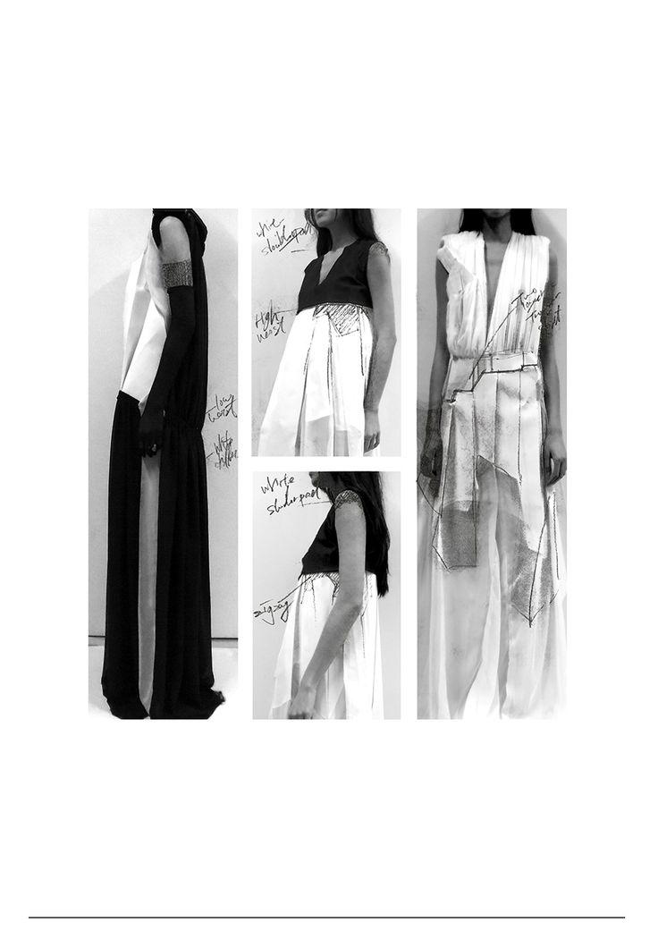 Fashion Portfolio - fashion design development; fashion sketchbook // Teruhiro Hasegawa