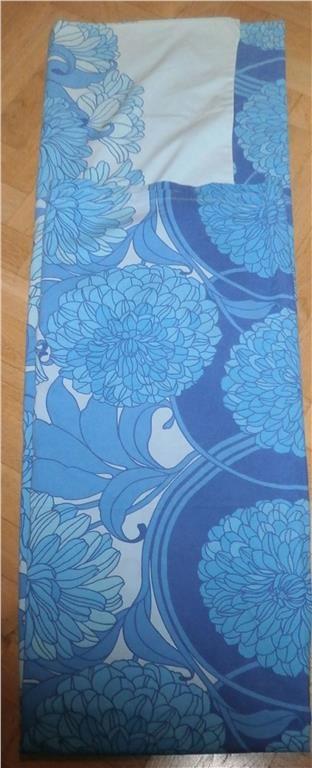 1 st påslakan blå blommor retro på Tradera.com - Sängkläder |