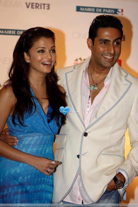 .Aishwarya and husband Abhishek Bachchan