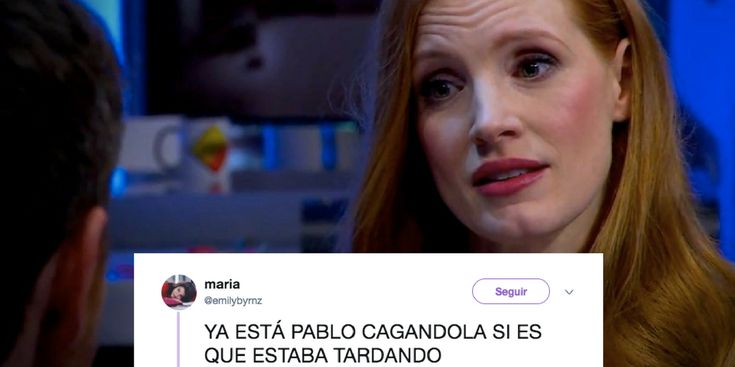 Jessica Chastain pone en su sitio a Pablo Motos hablando sobre igualdad en 'El Hormiguero'