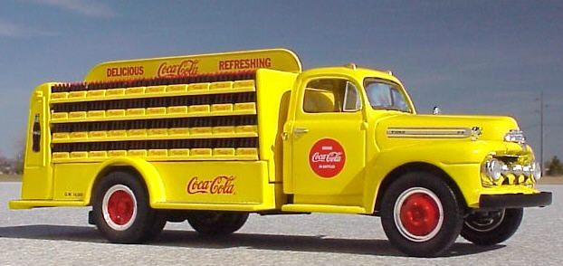1952 Ford C.O.E. (Yellow) Coca Cola delivery truck