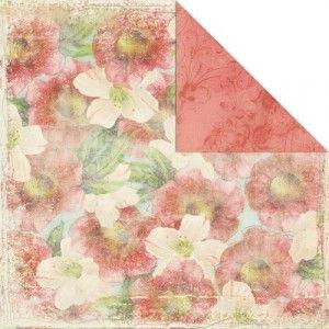 Beach Cottage Hybiscus Paper