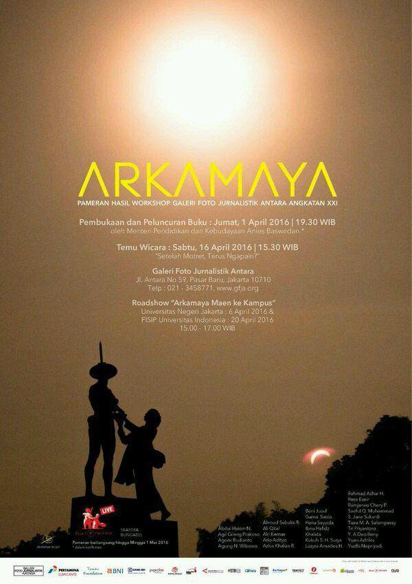 Pameran Foto 'Arkamaya' di Galeri Foto Jurnalistik Antara